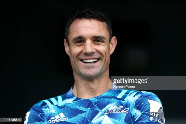 Dan Carter announces he is joining the Blues at Blues HQ on June 04, 2020 in Auckland, New Zealand. Carter is joining the Blues for the 2020 Super...