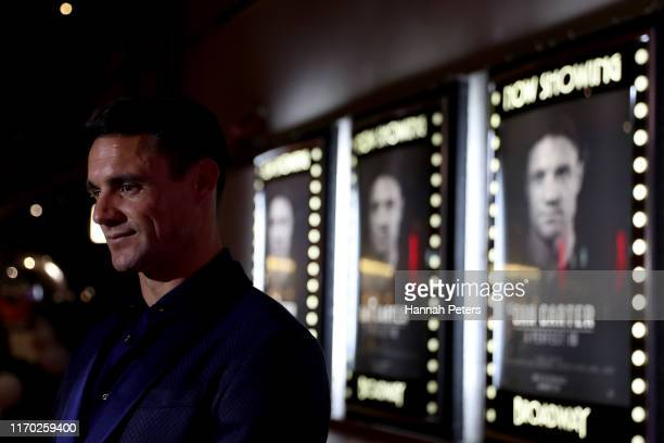 Dan Carter attends the world premiere of Dan Carter A Perfect 10 on August 26 2019 in Auckland New Zealand