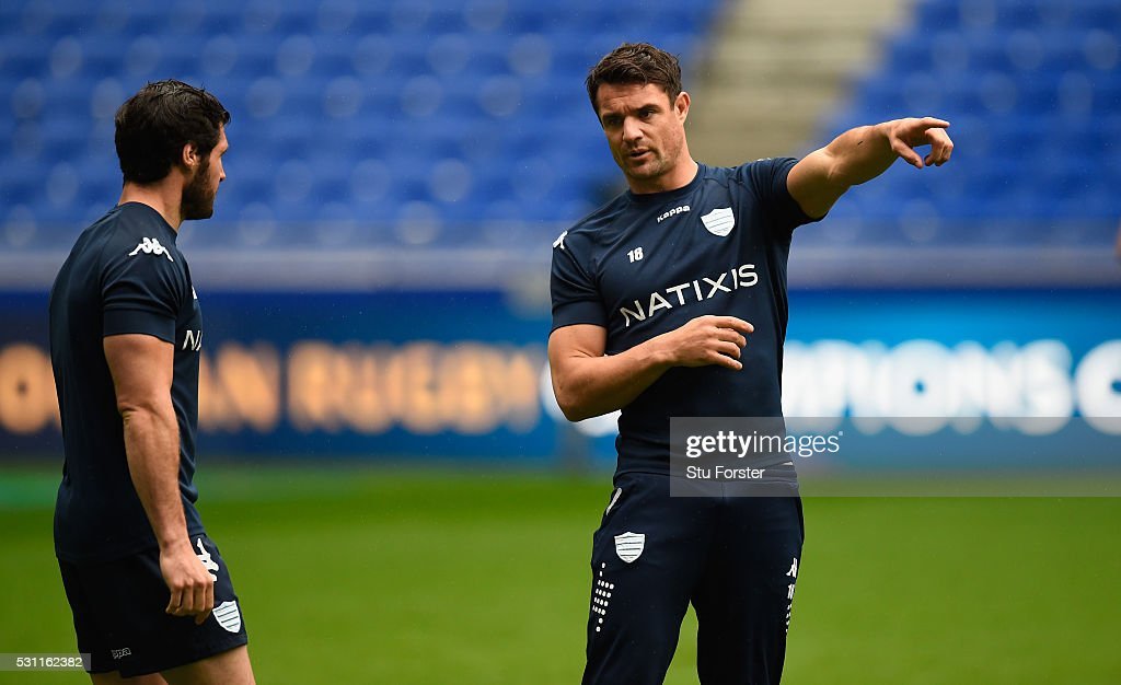 Racing 92 Captain's Run - European Rugby Champions Cup Final : News Photo