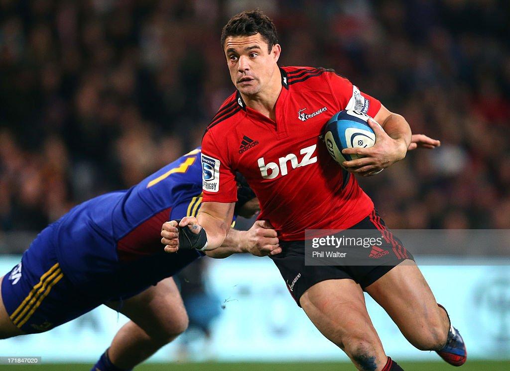 Super Rugby Rd 18 - Highlanders v Crusaders : News Photo