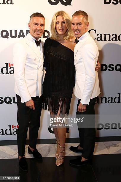 Dan Caten Ellie Goulding and Dean Caten attend Dsquared2's 20th anniversary celebration at Canada House cohosted by GQ at Canadian Embassy on June 13...