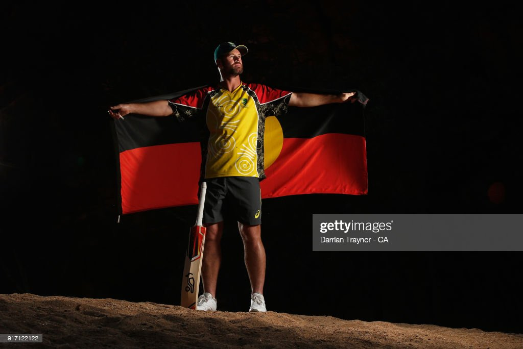 Dan Christian poses for a photo during the 2018 Cricket Australia Indigenous Championships on February 8, 2018 in Alice Springs, Australia.