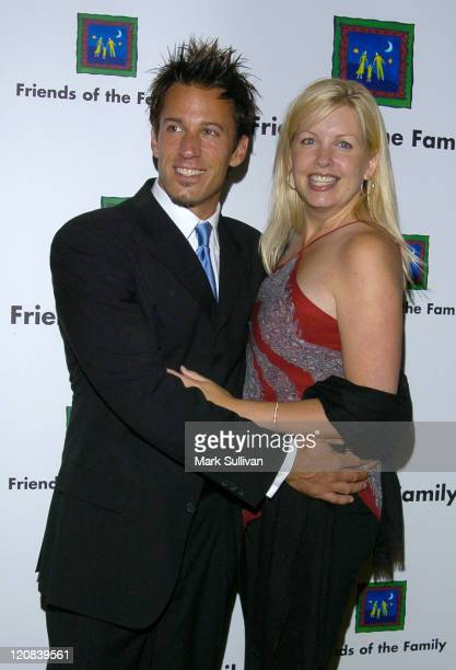 Dan Cortese and Dee Dee Hemby during The 8th Annual Families Matter BenefitArrivals at The Regent Beverly Wilshire Hotel in Beverly Hills California...
