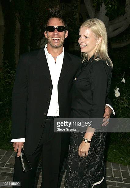 Dan Cortese and wife Dee Dee Hemby during 6th Annual MercedesBenz DesignCure at Home of Sugar Ray and Bernadette Leonard in Pacific Palisades...