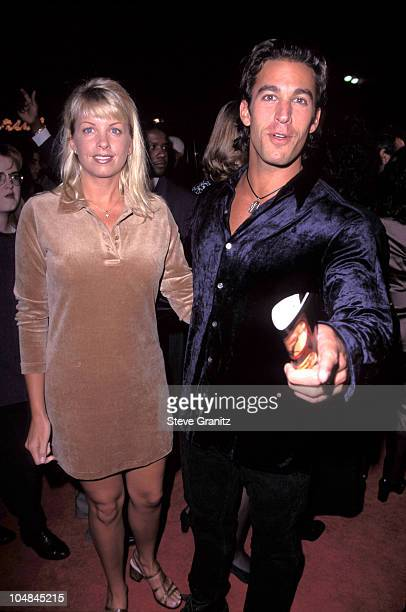 Dan Cortese Dee Dee Hemby during Two Days in the Valley Hollywood Premiere at Mann Village Theatre in Westwood California United States