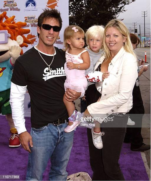 Dan Cortese wife Didi daughter India and son Roman