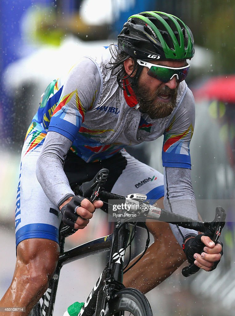 20th Commonwealth Games - Day 11: Cycling Road Race : News Photo