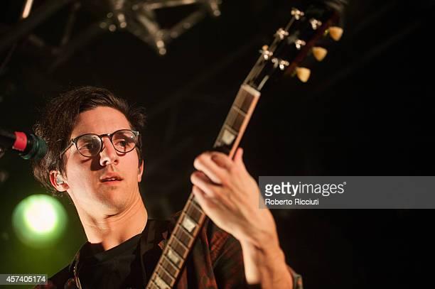 Dan Croll performs on stage at The Liquid Room on October 17, 2014 in Edinburgh, United Kingdom.