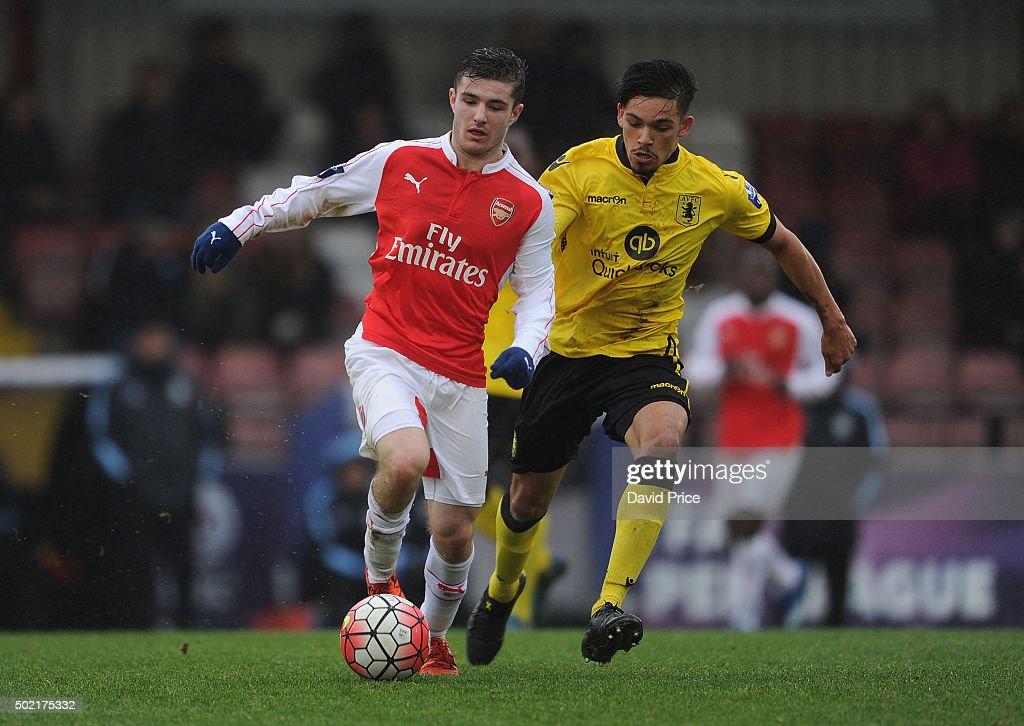 Arsenal v Aston Villa: U21 Premier League : News Photo