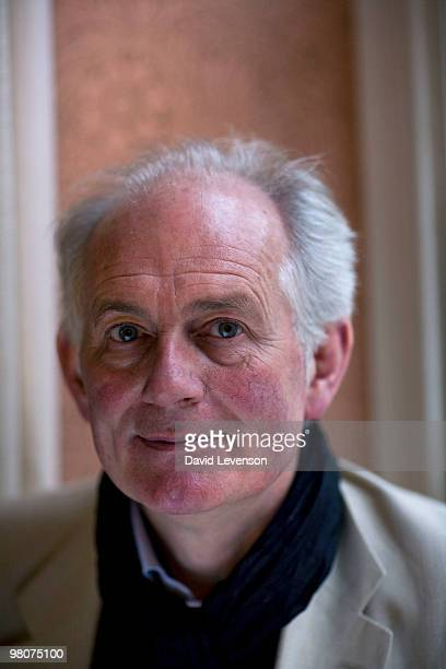 Dan Cruickshank Author and Historian poses for a portrait at the Oxford Literary Festival in Christ Church on March 26 2010 in Oxford England