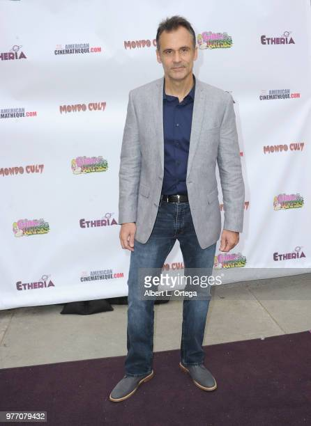 Dan Davidson arrives for the 2018 Etheria Film Night held at the Egyptian Theatre on June 16 2018 in Hollywood California