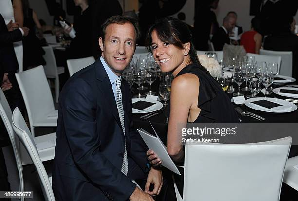 Dan Dees and Daun Dees attend LACMA's 2014 Collectors Committee Gala Dinner at LACMA on April 26 2014 in Los Angeles California