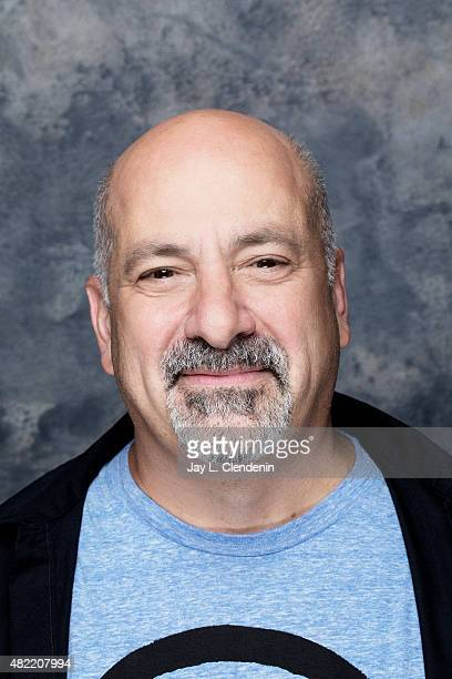 Dan DiDio of DC Comics poses for a portraits at ComicCon International 2015 for Los Angeles Times on July 9 2015 in San Diego California PUBLISHED...
