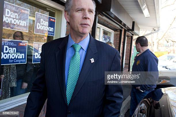 Dan Donovan opens his campaign office A special election is being held in the 11th Congressional District in Staten Island New York to fill the seat...