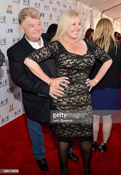 "Dan Dotson and Laura Dotson of ""Storage Wars"" attend the A+E Networks 2013 Upfront on May 8, 2013 in New York City."