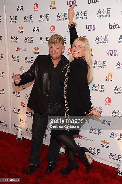 Dan Dotson and Laura Dotson of Storage Wars attends the A+E Networks 2012 Upfront at Lincoln Center on May 9, 2012 in New York City.