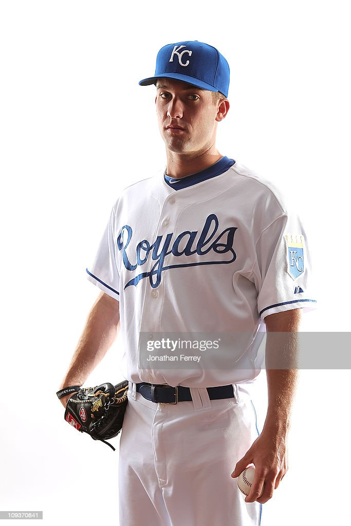 Dan Duffy #68 of the Kansas City Royals poses for a portrait during Spring Training Media Day on February 23, 2011 at Surprise Stadium in Surprise, Arizona..