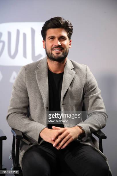 Dan Edgar from The Only Way Is Essex visit BUILD London on December 7 2017 in London England