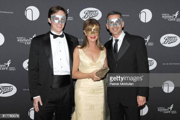 Dan Egan Jayne Bernstein and Frank Isoldi attend VIP MASKED BALL for Susan G Komen Headlined by Sir Richard Branson Katie Couric Cornelia Guest HM...