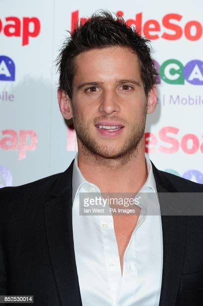 Dan Ewing at the 2013 Inside Soap Awards Ministry of Sound London
