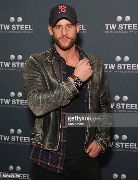 Dan Ewing attends the TW Steel Maverick Collection launch on June 23 2016 in Sydney Australia
