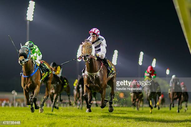Dan Excel ridden by Tommy Berry wins the Group 1 Singapore International Airlines Cup at May 17 at Kranji Race course Singapore during Singapore...