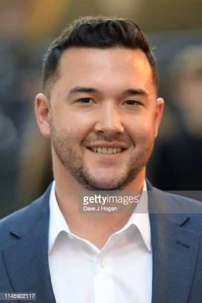 Dan Finlay attends the Tolkien UK premiere at The Curzon Mayfair on April 29 2019 in London England