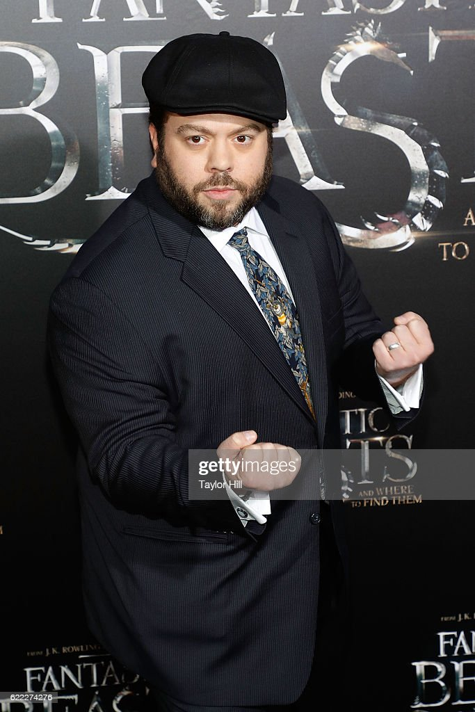 Dan Fogler attends the premiere of 'Fantastic Beasts and Where to Find Them' at Alice Tully Hall, Lincoln Center on November 10, 2016 in New York City.