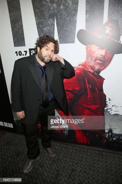 Dan Fogler attends The Walking Dead Premiere and After Party on September 27 2018 in Los Angeles California