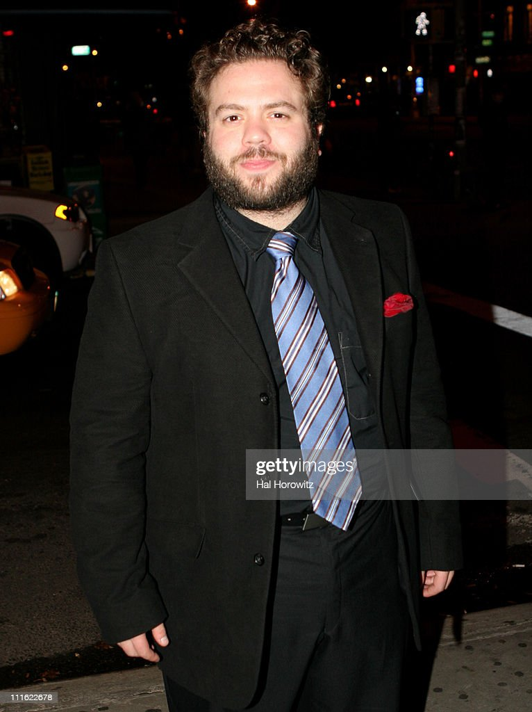 Dan Fogler during 'The Voyage Of The Carcass' - Opening Night Party at Mannahattah in New York City, New York, United States.