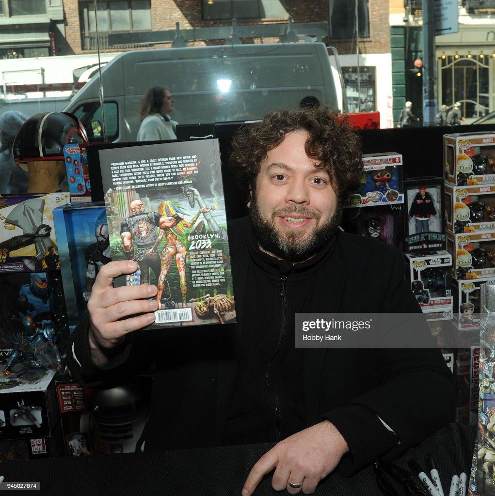 """Dan Fogler Signs Copies Of """"Brooklyn Gladiator"""""""