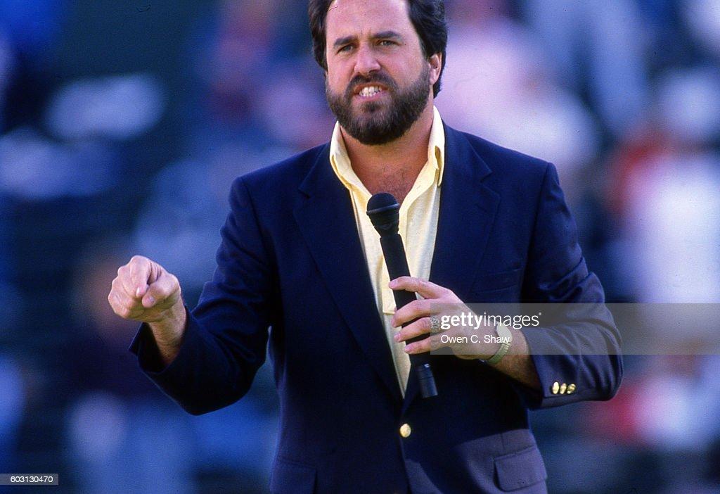 Dan Fouts circa 1987 : News Photo