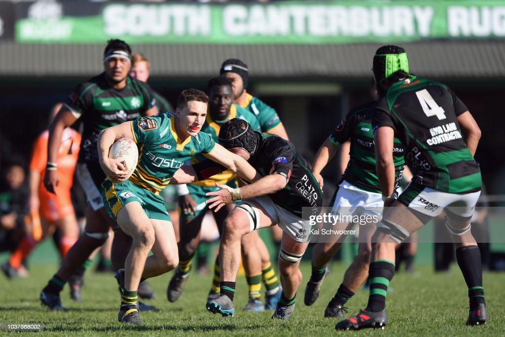 Heartland Championship - South Canterbury v Mid Canterbury : News Photo