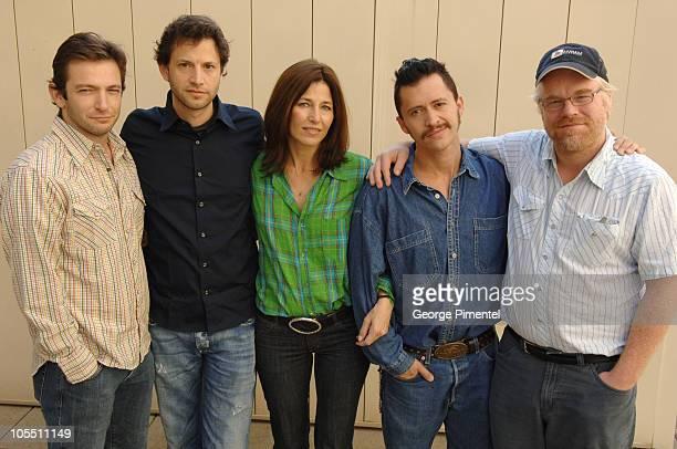 Dan Futterman writer Bennett Miller director Catherine Keener Clifton Collins Jr and Philip Seymour Hoffman