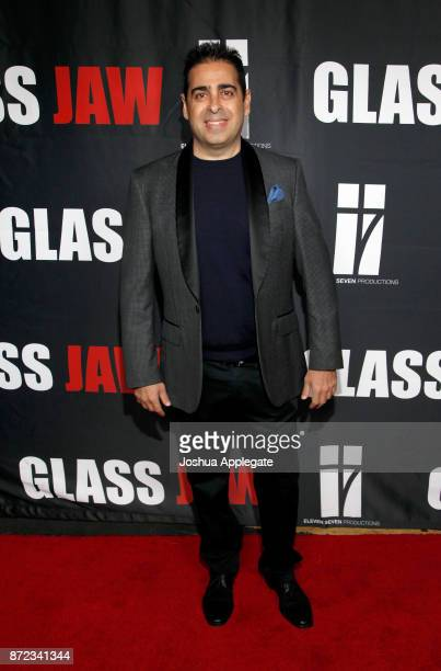 Dan Gatsby at the premiere of 'Glass Jaw' at Universal Studios Hollywood on November 9 2017 in Universal City California