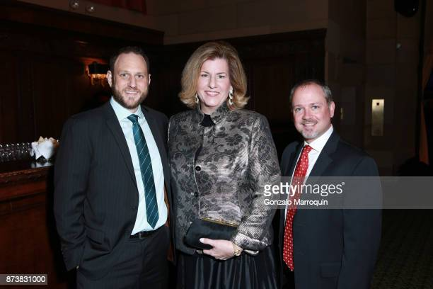 Dan Gellman Pamela Alvich and Tom Fowler during the Silver Hill Hospital 2017 Giving Hope Gala at Cipriani 42nd Street on November 13 2017 in New...
