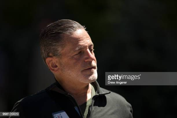 Dan Gilbert founder of Quicken Loans and Rock Ventures and owner of the Cleveland Cavaliers basketball team attends the annual Allen Company Sun...