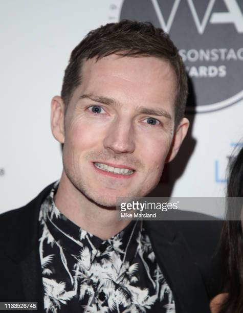 Dan Gillespie attends the WhatsOnStage Awards at Prince Of Wales Theatre on March 03 2019 in London England