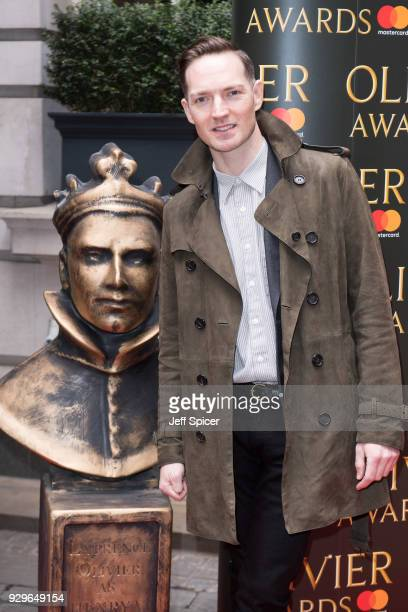 Dan Gillespie Sells attends the Olivier Awards nominations celebration at Rosewood Hotel on March 9 2018 in London England