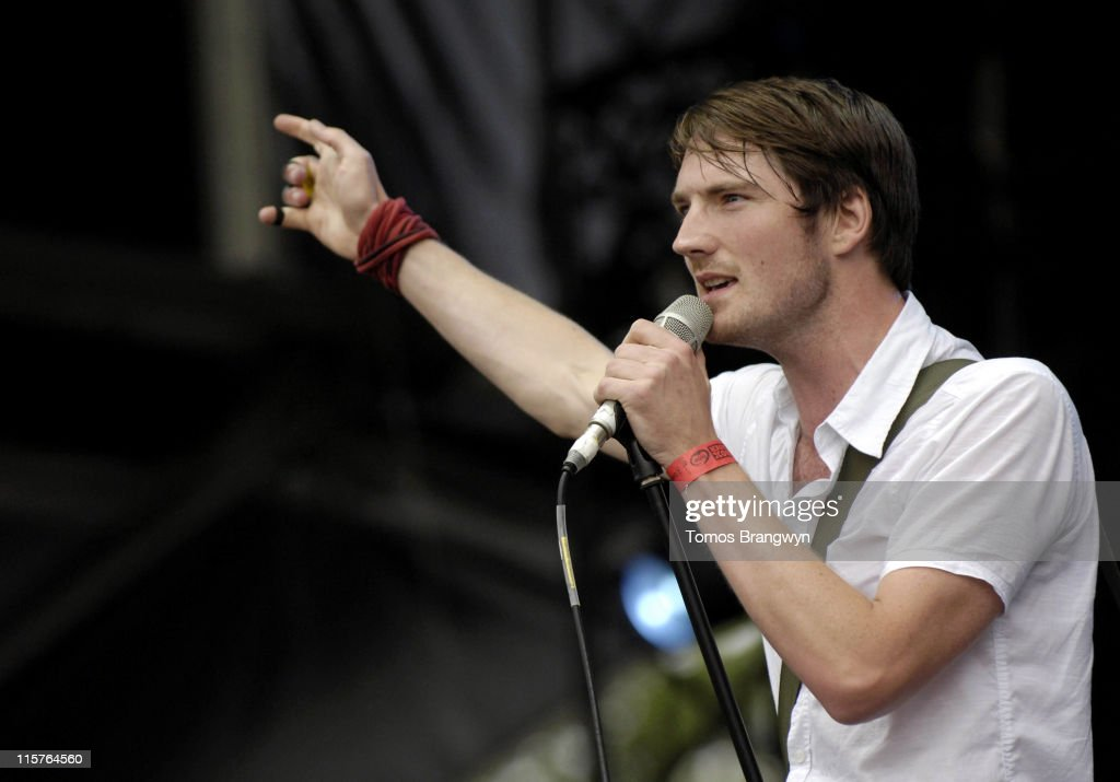 Dan Gillespie Sells of The Feeling during Lovebox Weekender 2006 - Day 2 at Victoria Park in London, Great Britain.
