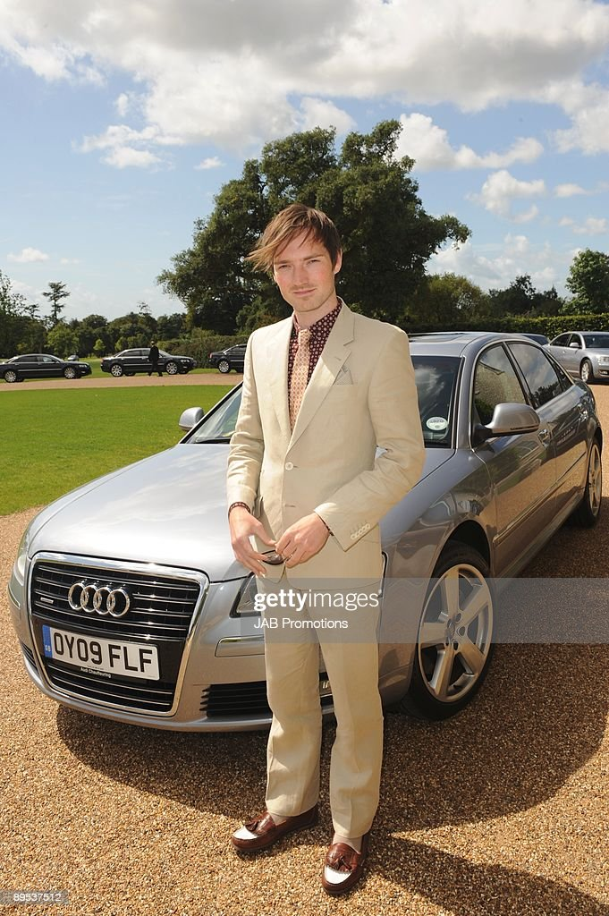 Dan Gillespie-Sells from The Feeling attends a private lunch hosted by Audi at Goodwood on July 30, 2009 in Chichester, England.