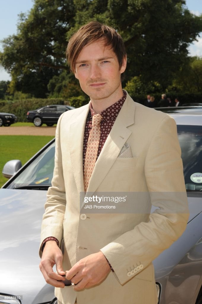Dan Gillespie-Sells from The Feeling attends private lunch hosted by Audi at Goodwood on July 30, 2009 in Chichester, England.