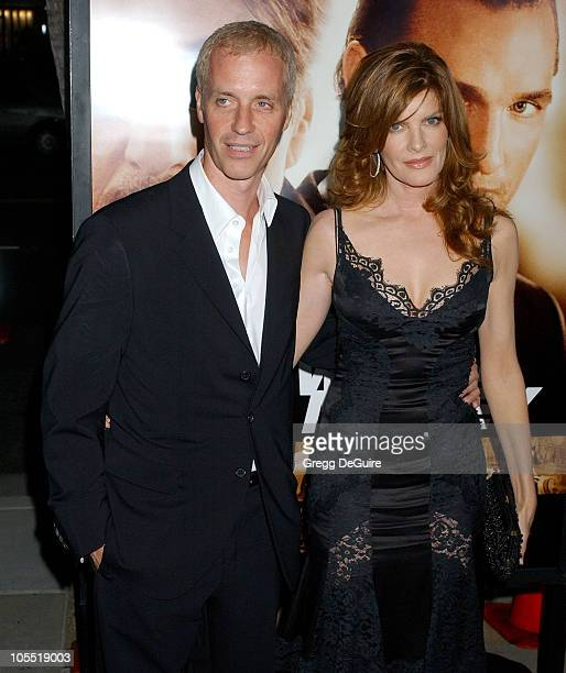 Dan Gilroy and Rene Russo during 'Two for the Money' World Premiere CoPresented By Bodogcom Red Carpet at Samuel Goldwyn Theater in Los Angeles...