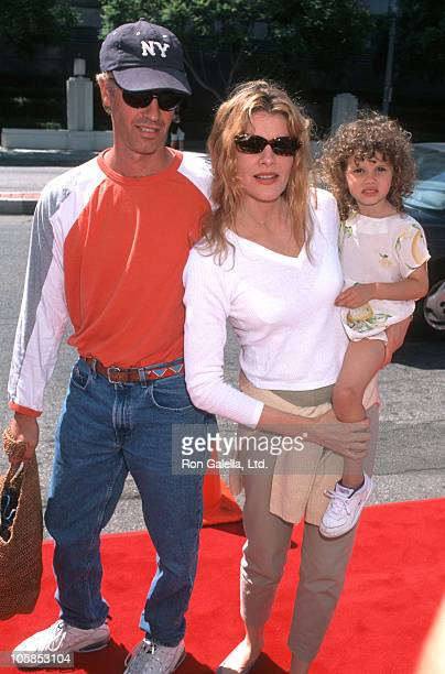 Dan Gilroy Rene Russo and Daughter Rose during Matilda Los Angeles Premiere at Mann Culver Plaza Theatre in Culver City California United States