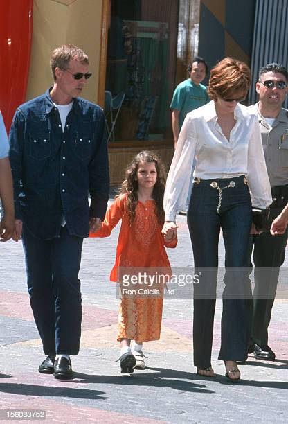 Dan Gilroy Rene Russo and daughter Rose during 'The Adventures of Rocky Bullwinkle' Los Angeles Premiere at Universal Studios Cinema in Universal...