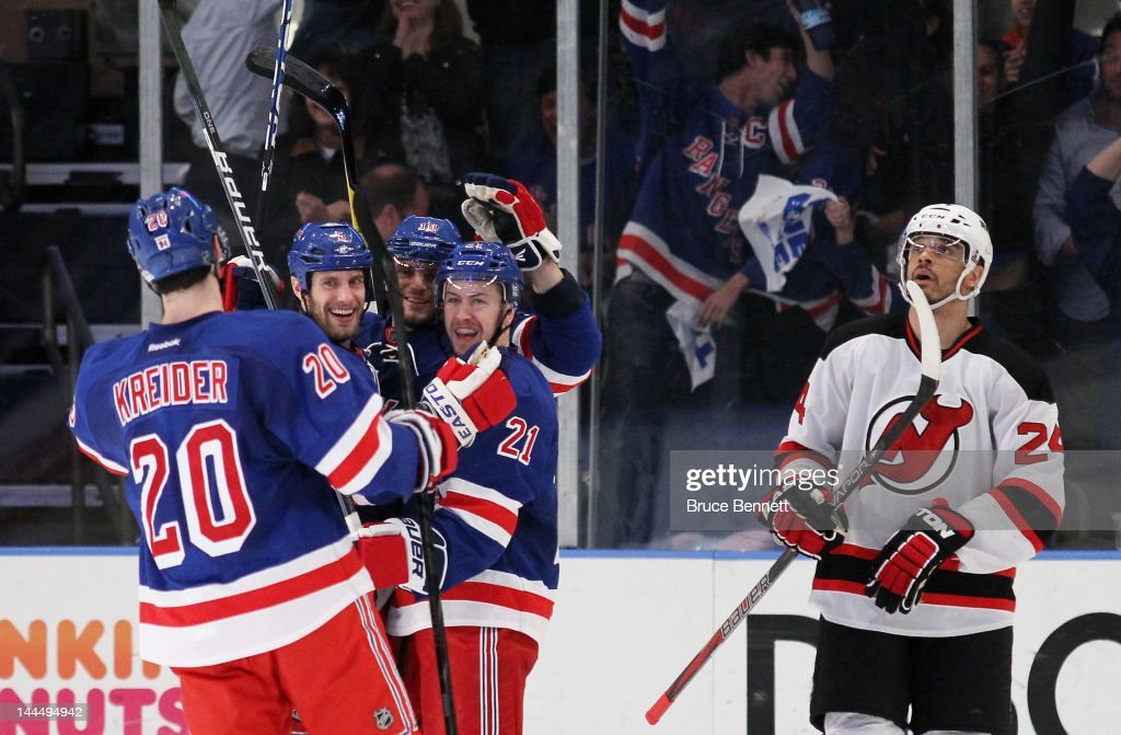New Jersey Devils v New York Rangers - Game One