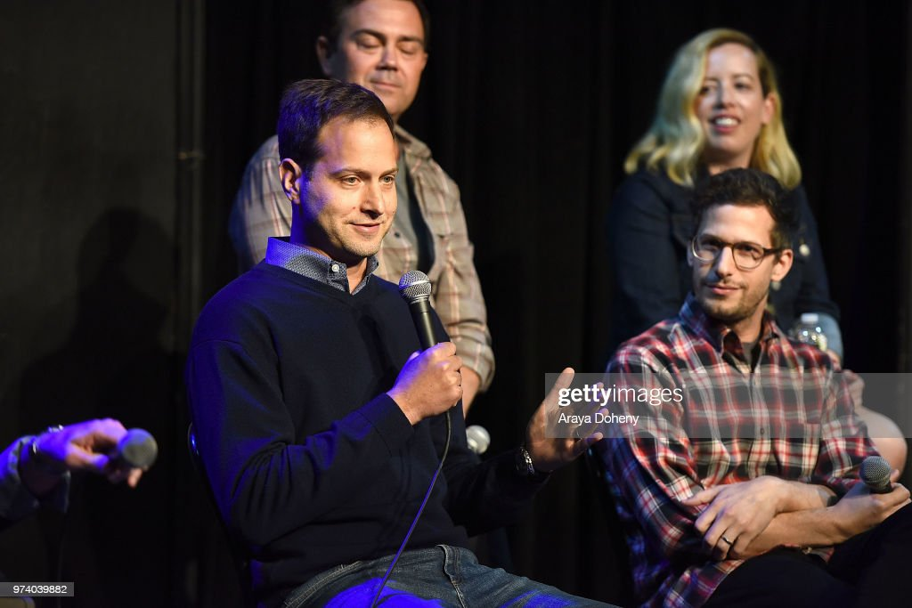 Dan Goor attends Universal Television's FYC @ UCB 'Brooklyn Nine-Nine' at UCB Sunset Theater on June 13, 2018 in Los Angeles, California.