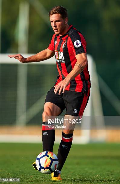 Dan Gosling of AFC Bournemouth in action during a Pre Season Friendly match between AFC Bournemouth and Estoril Praia at the Marbella Football Center...