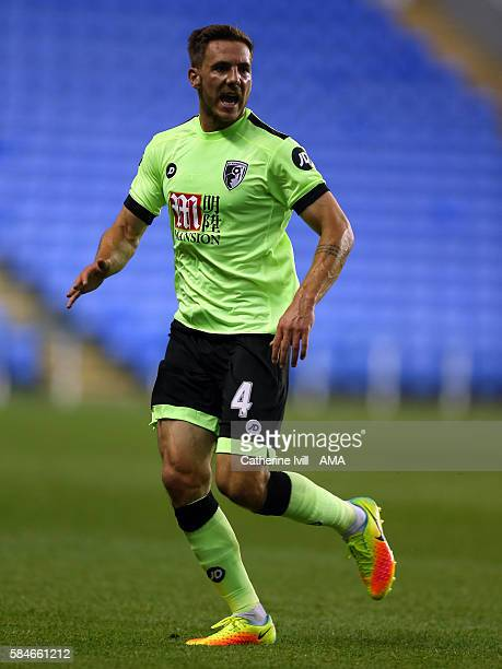Dan Gosling of Bournemouth during the PreSeason Friendly match between Reading and AFC Bournemouth at Madejski Stadium on July 29 2016 in Reading...