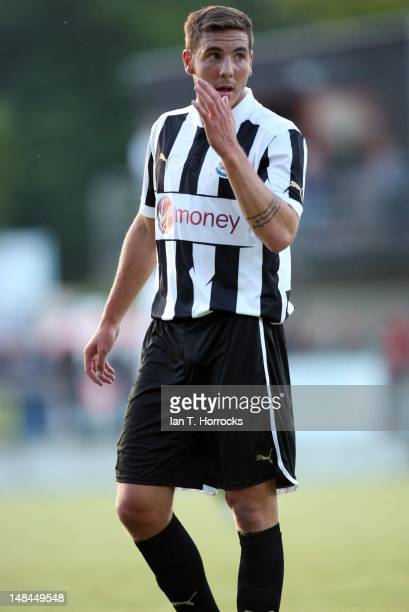 Dan Gosling of Newcastle United during a pre season friendly match between Newcastle United and AS Monaco at the HackerPschorr Sports Park on July 16...
